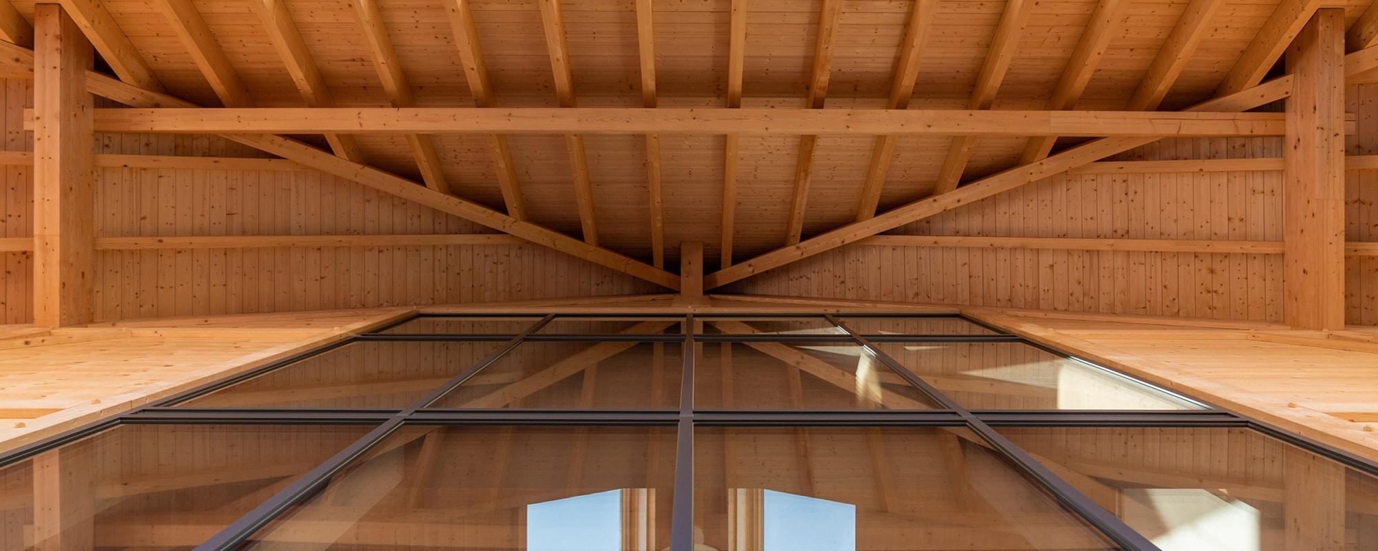 Philosophie - Holz Stahl Glas